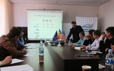 Moldovan Speed Awareness Pilot Project