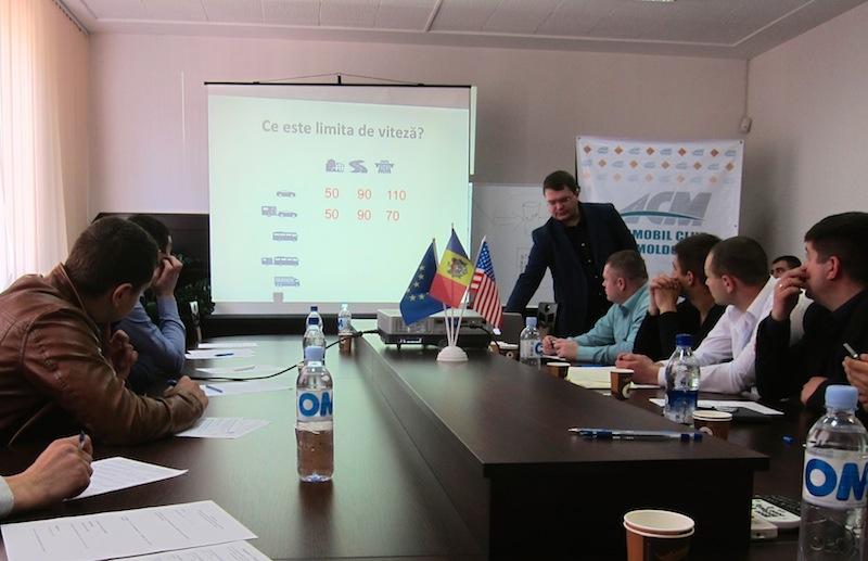 Moldovan Speed Awareness Pilot Project
